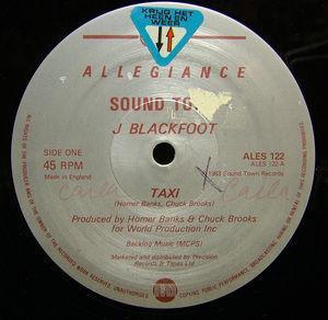 Single Cover J - Taxi Blackfoot