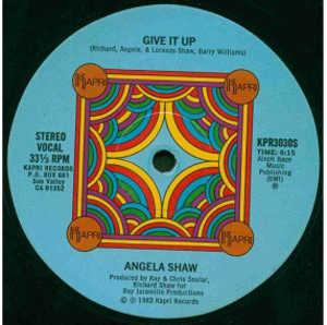 Single Cover Angela - Give It Up Shaw