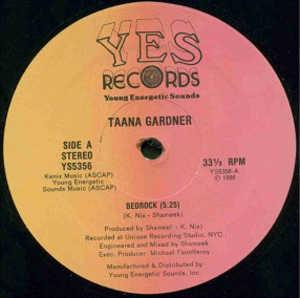 Single Cover Taana - Bedrock Gardner