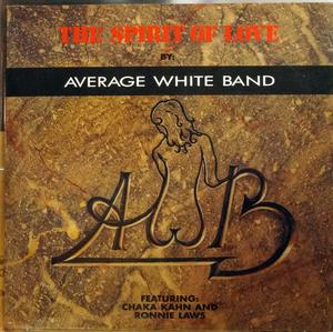 Single Cover Average White Band - The Spirit Of Love