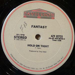 Single Cover Fantasy - Hold On Tight