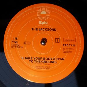 Single Cover The - Shake Your Body (down To The Ground) Jacksons