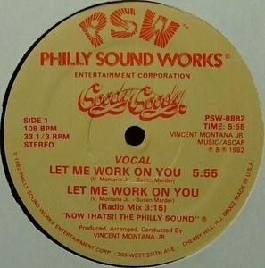 Single Cover Goody Goody - Let Me Work On You