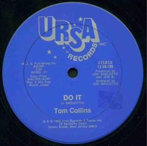 Single Cover Tom - Do It Collins