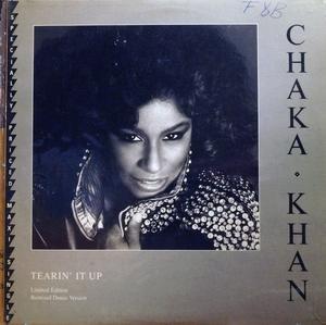 Single Cover Chaka Khan - Tearin' It Up