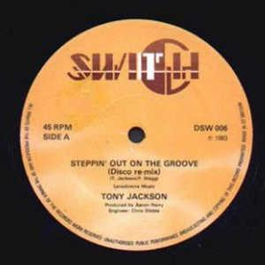 Single Cover Tony - Steppin' Out On The Groove Jackson
