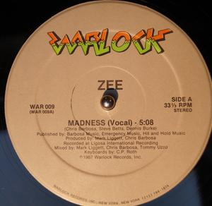 Single Cover Zee - Madness