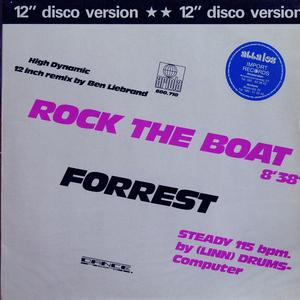 Single Cover Forrest - Rock The Boat
