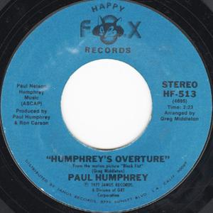 Single Cover Paul - Humphrey's Overture Humphrey