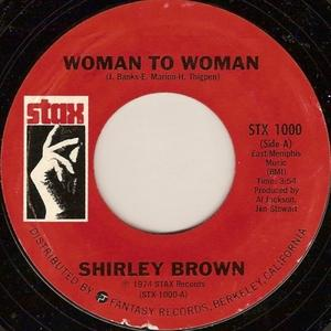 Single Cover Shirley - Woman To Woman Brown