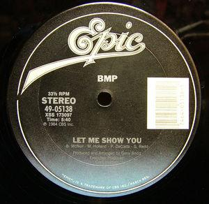 Single Cover Bmp - Let Me Show You