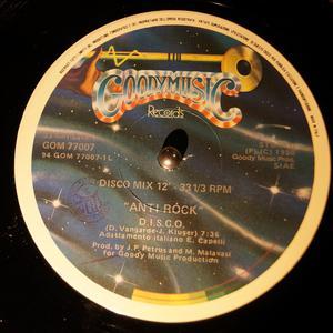 Single Cover Anti Rock - D.i.s.c.o.