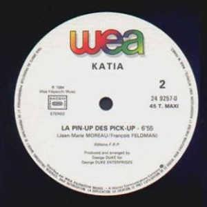 Single Cover Katia - La Pin-up Des Pick-up