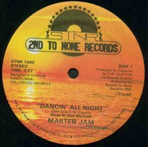 Single Cover Master Jam - Dancin' All Night