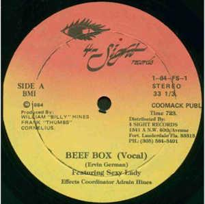 Single Cover Ervin - Beef Box (feat. Sexy Lady) German