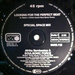 Single Cover Afrika - Looking For The Perfect Beat Bambaataa