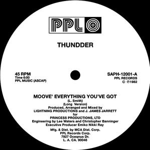 Thundder - Moove Everything You've Got