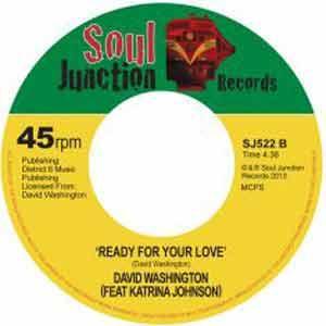 David Washington new single Ready For your Love