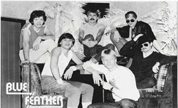 Blue Feather in the eighties