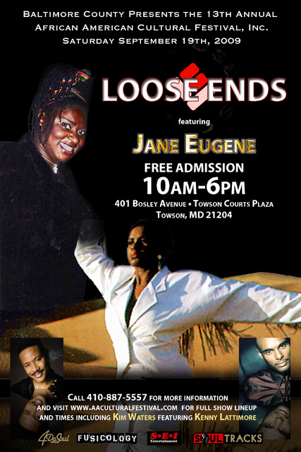 Loose Ends Featuring Jane Eugene Live In Concert