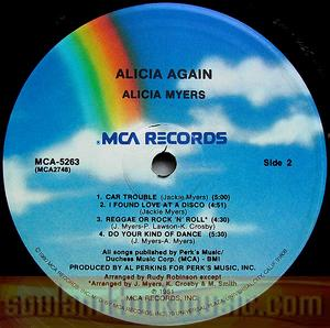 Alicia Myers - Again