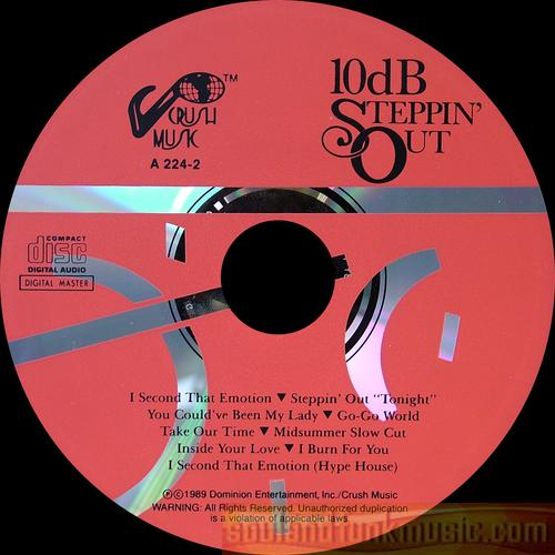 10db - Steppin' Out