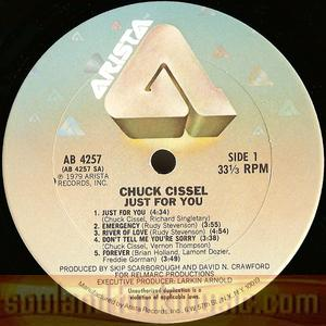 Chuck Cissel - Just For You