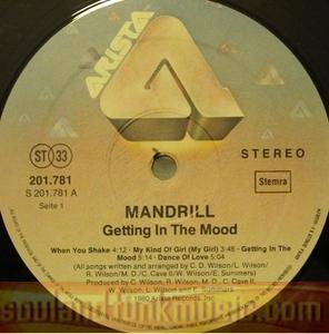 Mandrill - Getting In The Mood