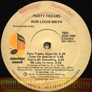 Ron Louis Smith - Party Freaks, Come On