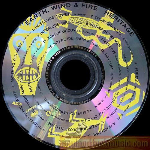 Wind & Fire Earth - Heritage