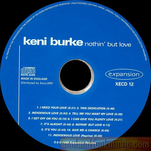 Keni Burke - Nothin' But Love