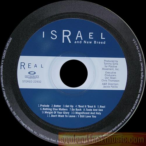 Israel And New Breed - Real