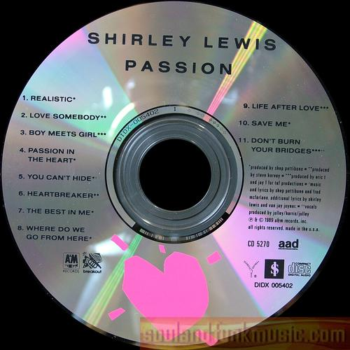 Shirley Lewis - Passion