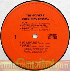 Sylvers - Something Special