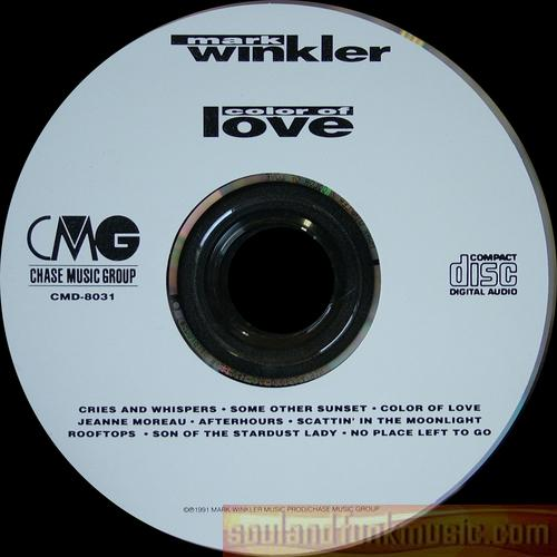 Mark Winkler - Color Of Love